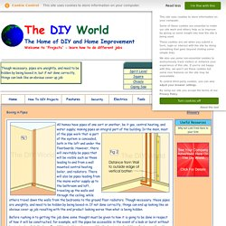 The DIY World - How to Boxing in Pipes (page1)