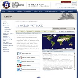 The World Factbook CIA