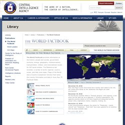 CIA: The World Factbook