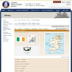 The World Factbook -- Ireland