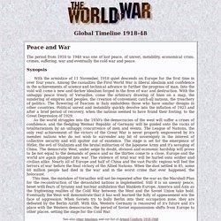 The World at War - Global Timeline 1918-48