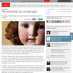Article: Gendercide: The worldwide war on baby girls