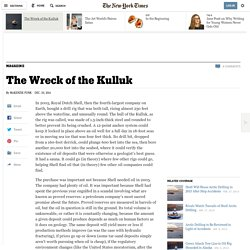The Wreck of the Kulluk