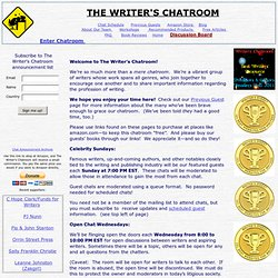 The Writer's Chatroom