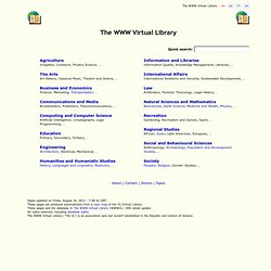The WWW Virtual Library - Pentadactyl