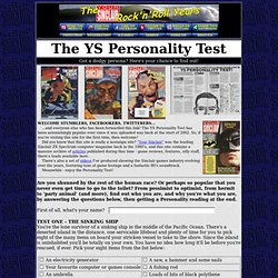 The YS Personality Test