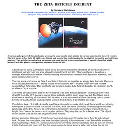 The Zeta Reticuli Incident