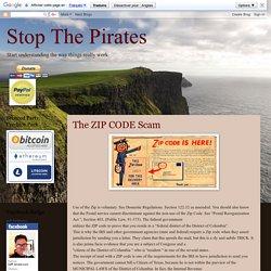 The ZIP CODE Scam