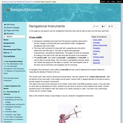theageofdiscovery - Navigational Instruments