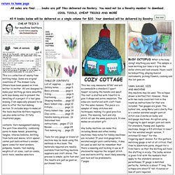 /CoolMake-it-yourselfToolsforMachineKnitterscooltools.html