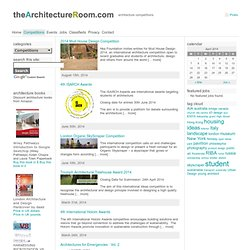 Competitions « TheArchitectureRoom
