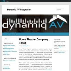 Home Theater Company Texas