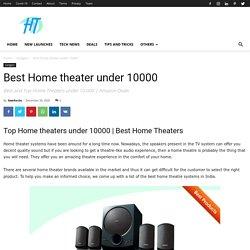 Best Home theater under 10000