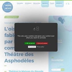 L'oiseau vert, fable théâtrale par la compagnie du Théâtre des Asphodèles - Ville de Pierre-Bénite