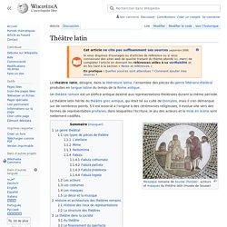 Théâtre latin