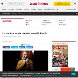 Le théâtre en vie de Mohamed El Khatib – JeuneAfrique.com