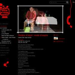 Théâtre d'objet : mode d'emploi : Théâtre de Cuisine