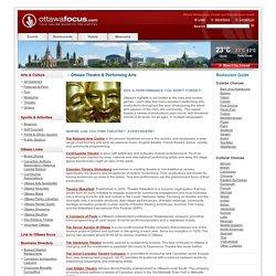 Theatre – Ottawafocus.com