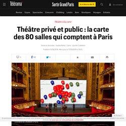 Théâtre privé et public : la carte des 80 salles qui comptent à Paris - Sortir Grand Paris