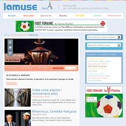 Théâtre, spectacles, activités pour les ados à Paris
