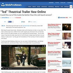 """Ted"" Theatrical Trailer Now Online"