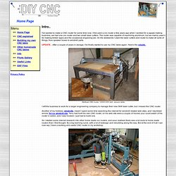 DIY CNC