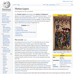 Theban Legion