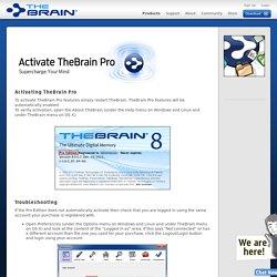 Activate TheBraiin Pro