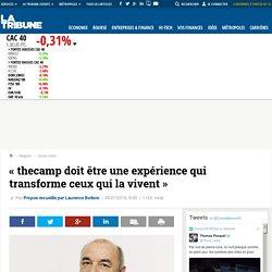 « thecamp doit être une expérience qui transforme ceux qui la vivent »