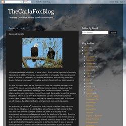 TheCarlaFoxBlog: Entanglements