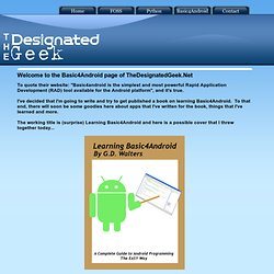 TheDesignatedGeek.Net