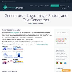 Generators / Image Makers