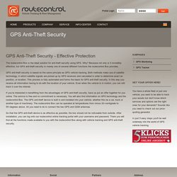GPS Anti-Theft Device - Protect Your Vehicles From Theft