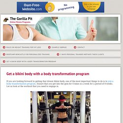 Thegorillapit - Get a bikini body with a body transformation program