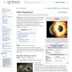 Théia (impacteur)