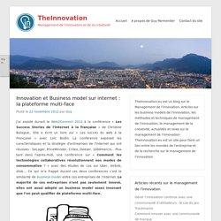 TheInnovation » Innovation et Business model sur internet : la plateforme multi-face