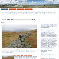 theLakelandFells - Lake District fells photographic walking guide