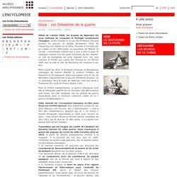 Fiche thématique: Goya : Les Désastres de la guerre