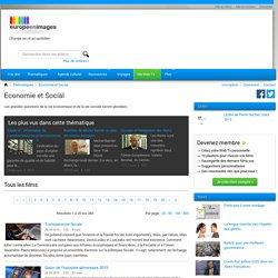 Thématique Economie et Social - Europe en images Web Tv