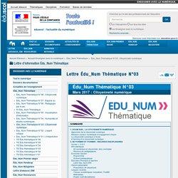 Lettre Édu_Num Thématique