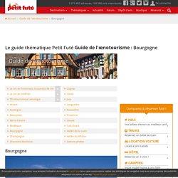 Le guide thématique Petit Futé Guide de l'œnotourisme : Bourgogne