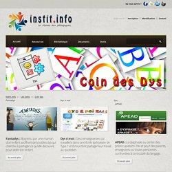 Coin Dys - Une thématique pédagogique sur instit.info