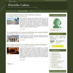 Murielle Cahen : Thèmatique Responsabilité