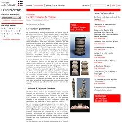 Fiche thématique: La cité romaine de Tolosa (Musées de Midi-Pyrénées)