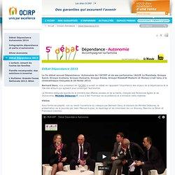 Le portail de l'OCIRP - Dossiers thématiques - Débat Dépendance
