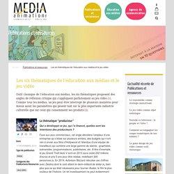 Les six thématiques de l'éducation aux médias et le jeu vidéo - Média Animation asbl