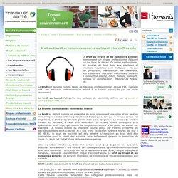 Bruit au travail, nuisances sonores au travail : les chiffres clés