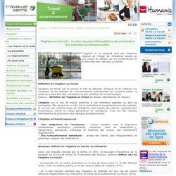 Définition hygiène au travail : chiffres clés hygiène en entreprise