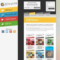 EffiNews - 5 e-magazines thématiques hebdomadaires