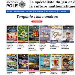 Le catalogue des Éditions POLE - Tangente - Tangente Sup - Tangente Éducation - Thématiques - Jouer Bridge - Mathématiques - Infinimath